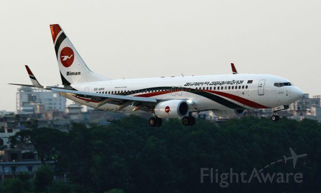 Boeing 737-800 (S2-AHV)