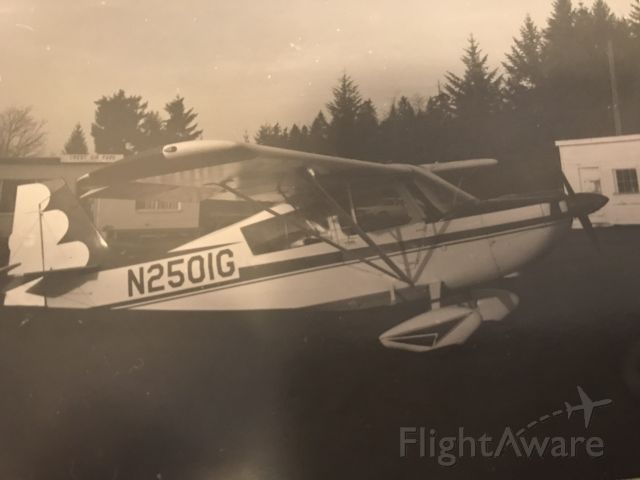 — — - Crest Air Park around 1969.  I was 10 years old and was given an aerobatic ride over Lake Sawyer.