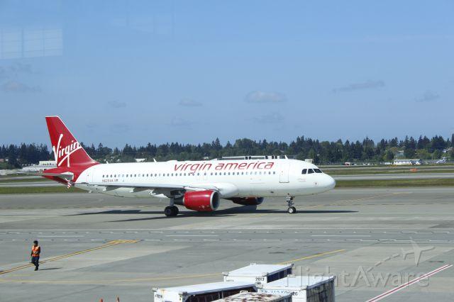 Airbus A320 (N625VA) - 050714 Virgin America