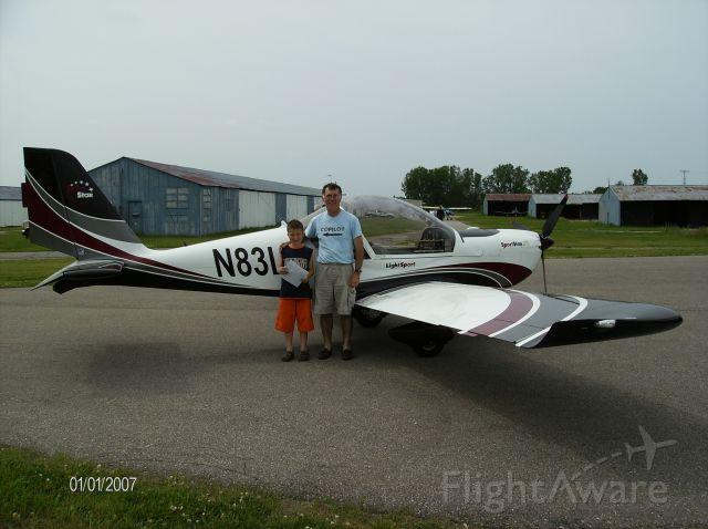 Experimental  (N83LS) - Young Eagle copilot