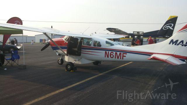 Cessna 206 Stationair (N6MF) - Mission Aviation Fellowship plane at 417 On Mission - Bolivar, MO