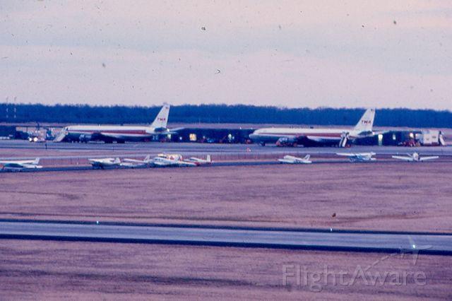 Boeing 707-100 — - Pair of Boeing 707