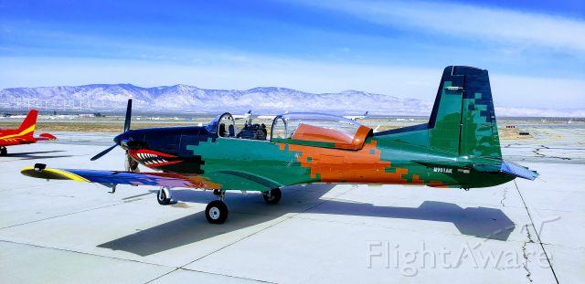 Pilatus PC-7 Astra (N901AK) - Plane crazy Saturday @ Mojave 15FEB2020