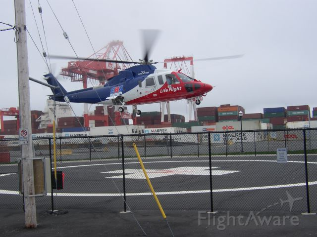 Sikorsky S-76 (C-GIMN) - At the parking lot of Point Pleasant Park Halifax Nova scotia