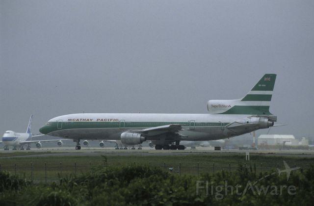 Lockheed L-1011 TriStar (VR-HOA) - Departure at Narita Intl Airport Rwy34 on 1988/07/05