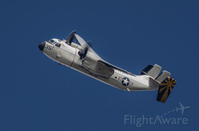 Grumman C-2 Greyhound — - Approach to 29.