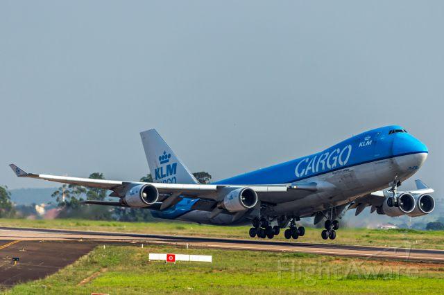 Boeing 747-400 (PH-CKC) - KLM Cargo (Operated by Martinair) / Boeing 747-406F(ER)<br />Registration: PH-CKC<br /><br />Campinas (VCP) - Santiago (SCL)<br /><br />Fotografia: Marcelo Luiz