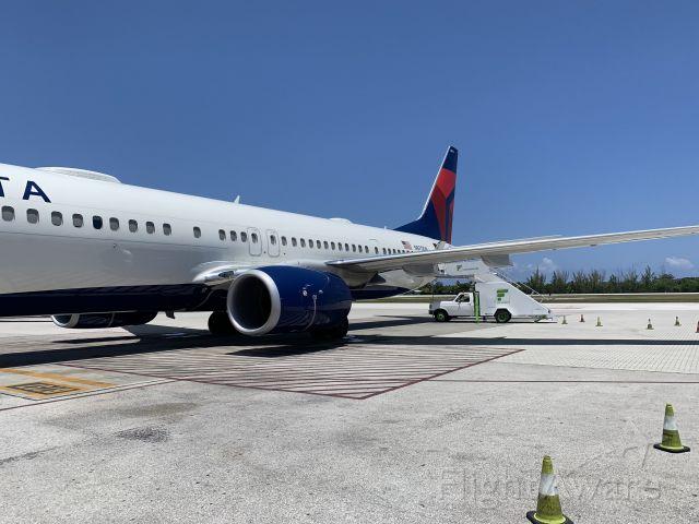 Boeing 737-900 (N870DN) - Flight from GCM to ATL.