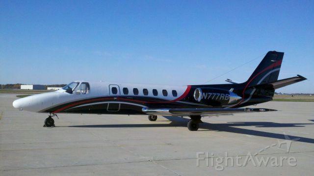 Cessna Citation V (N777RB) - N777RB Citation V