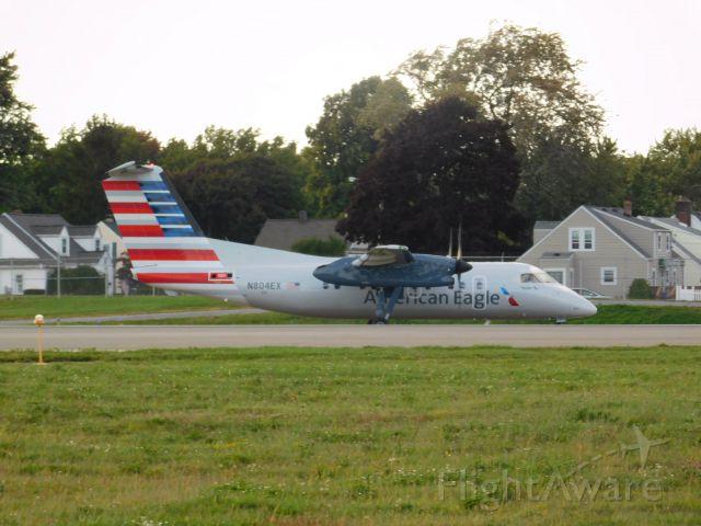 de Havilland Dash 8-100 (N804EX) - Powell avenue loop