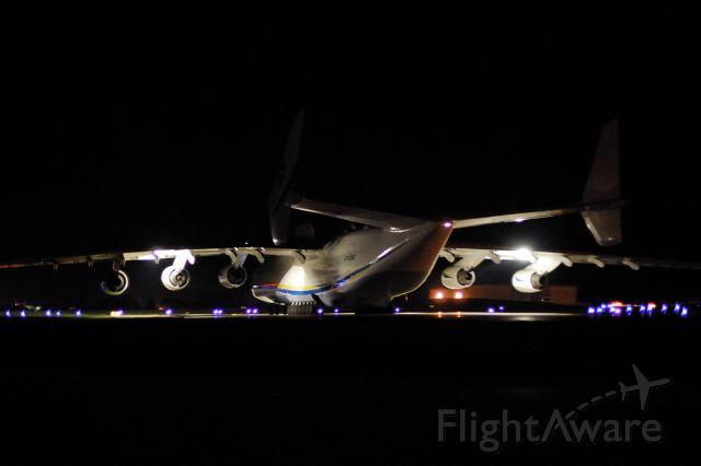 Antonov An-225 Mriya (UR-82060) - heading to BKIF via CYYK