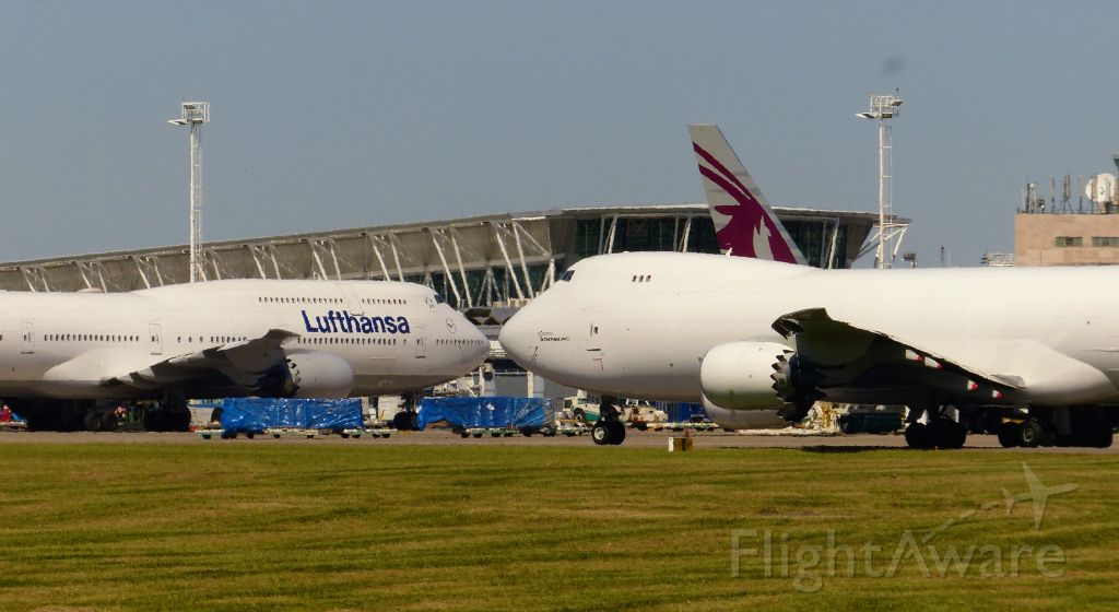 BOEING 747-8 (N859GT) - I Love you