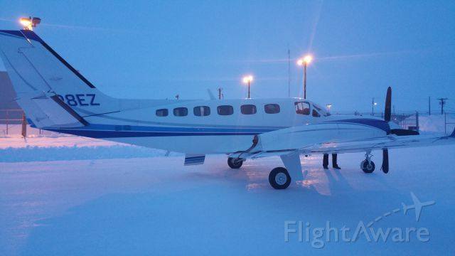 Cessna Conquest 2 (N128EZ) - Security Aviation - Taken by Bud Washburn in Nuiqsut, AK March 5, 2015