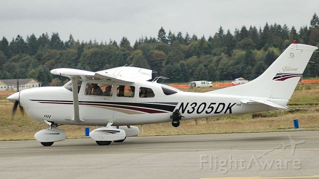 Cessna 206 Stationair (N305DK) - 1999 CESSNA 206H<br />Fixed wing single engine <br />(6 seats / 1 engine)