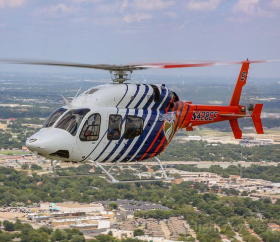 Bell 429 GlobalRanger (N428CF) - CareFlite Bell 429 in flight over Ft Worth, Texas