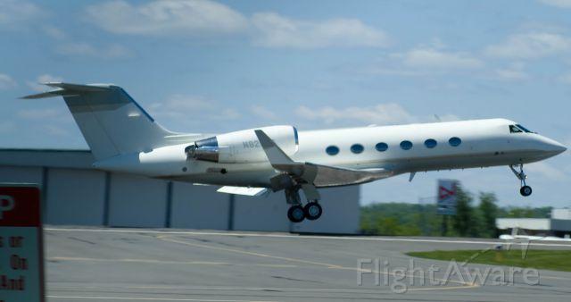 Gulfstream Aerospace Gulfstream IV (N829CS) - dep on 36
