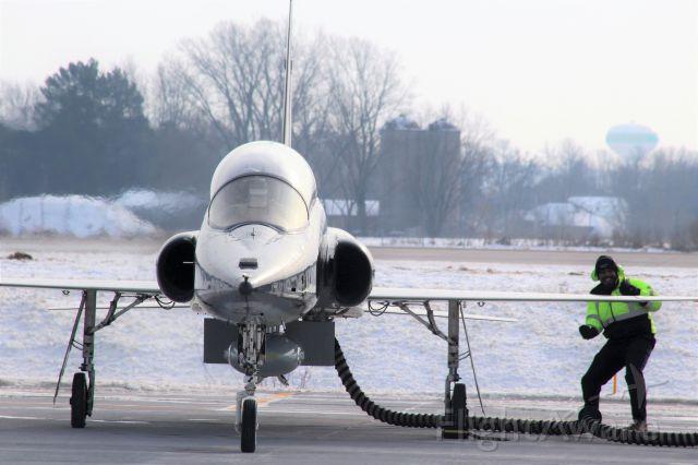 "Northrop T-38 Talon (AFR67857) - ""I Love My Job !!""<br /><br />Vance AFB OK Ground Crew 71st Training Wing."