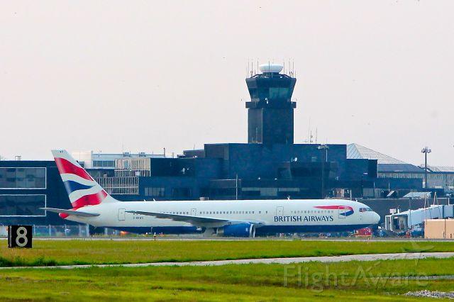 G-BNOW — - British Airways G-BNOW Boeing 767 seen here at BWI on July 2, 2012.