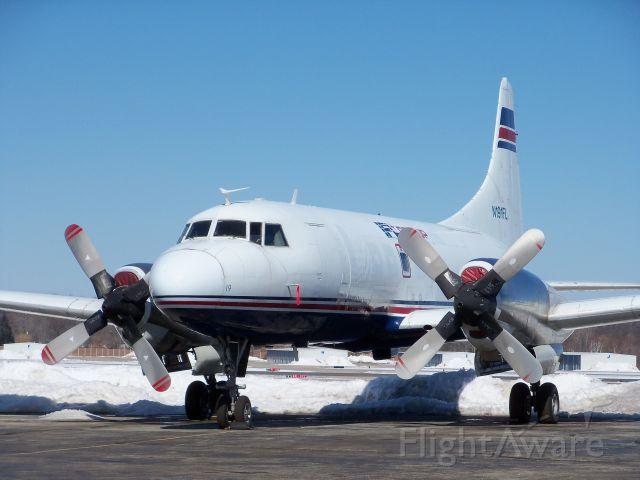 CONVAIR CV-580 (N191FL) - Classic Convair 580 originally built in 1956, now operated by IFL group.
