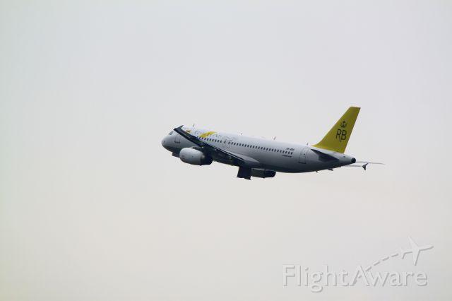 Airbus A320 (V8-RBS)