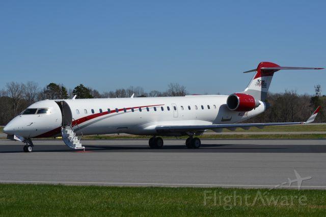 Canadair Regional Jet CRJ-700 (N520JG) - JOE GIBBS RACING INC at KJQF - 3/4/18