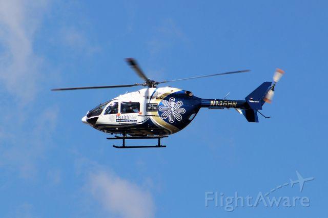 KAWASAKI EC-145 (N145HN) - Taken From Milan Puskar Stadium. Morgantown, WV