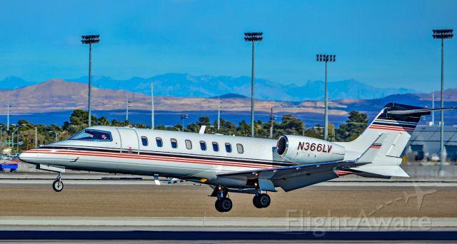 Learjet 45 (N366LV) - N366LV 2008 LEARJET  45 s/n 366 - Las Vegas - McCarran International Airport (LAS / KLAS)<br />USA - Nevada December 2, 2016<br />Photo: Tomás Del Coro