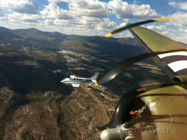 Beechcraft 55 Baron (N5793K) - en route to ABQ with Southern Cross