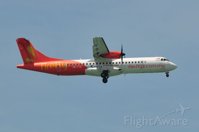 ATR ATR-72 (9M-FYB)