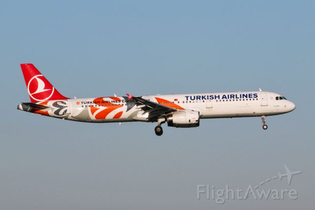 Airbus A321 (TC-JRO) - TK1993 from Istanbul