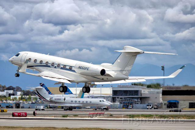 Gulfstream Aerospace Gulfstream G650 (N650PE)