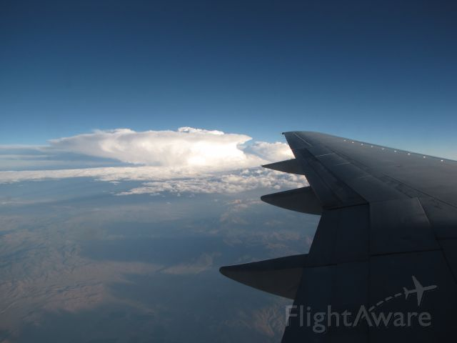Boeing 757-200 — - UA 375 over the Sierras--KDEN to KSMF 7-15-2010
