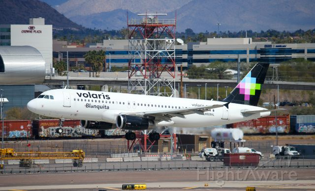 Airbus A320 (N509VL) - SPOTTED AT KPHX; FEB, 28, 2021