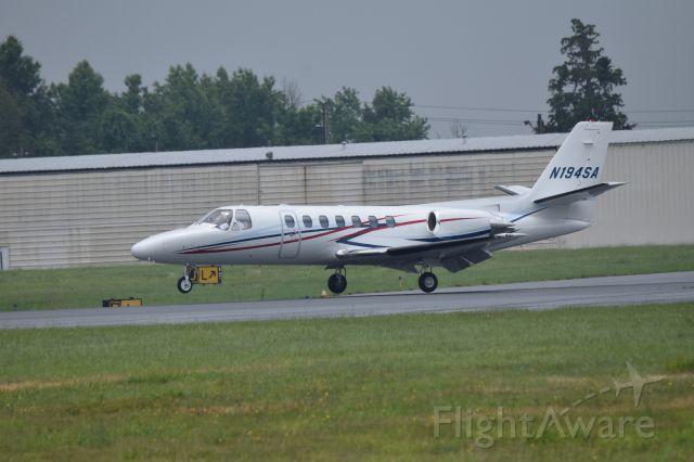 Cessna Citation V (N194SA) - Taken 6-24-2016