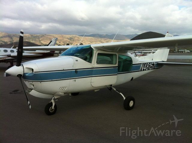 Cessna Centurion (N48157) - Just dropped off some people in San Luis Obispo.