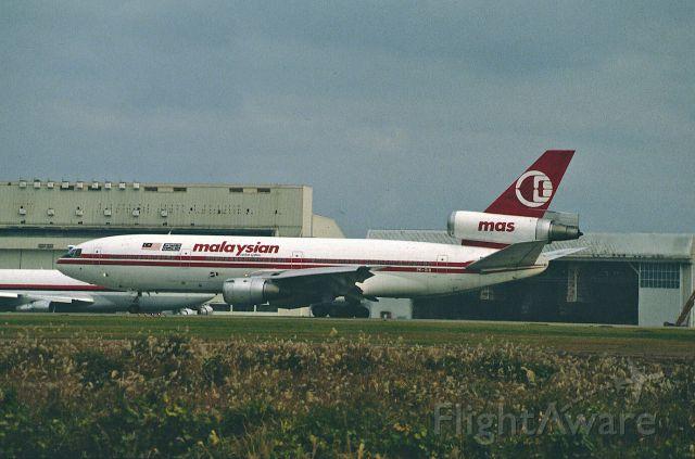 McDonnell Douglas DC-10 (PK-GIB) - Departure at Narita Intl Airport Rwy34 on 1987/11/14