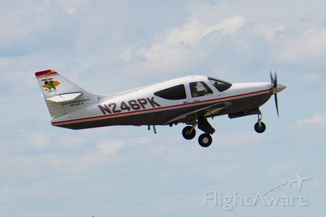 Rockwell Commander 114 (N246PK) - Departing RWY 8