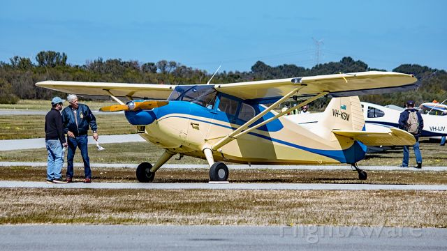 Piper 108 Voyager (VH-KSM) - Stinson 108 Voyager. VH-KSM Serpentine airfield YSEN September 2016.