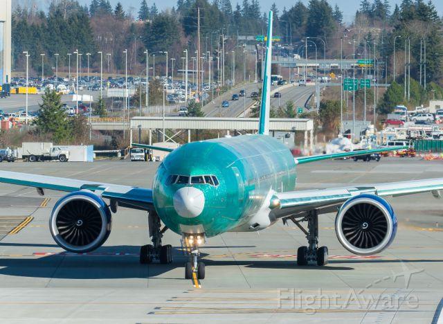 Boeing 777-200 (VQ-BQD) - Taxing on runway 16R