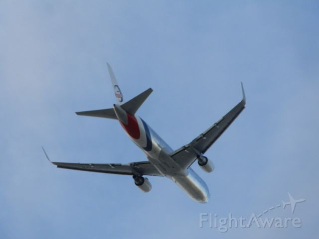 BOEING 767-300 — - Cargo-Laden and lifting off