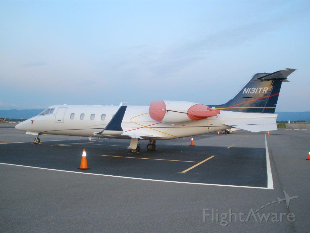 Learjet 60 (N131TR) - Early morning sunrise at kroa