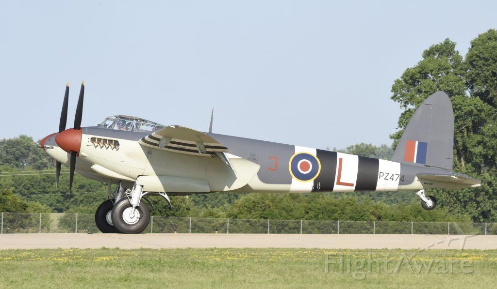 De Havilland Mosquito (N474PZ) - Airventure 2019