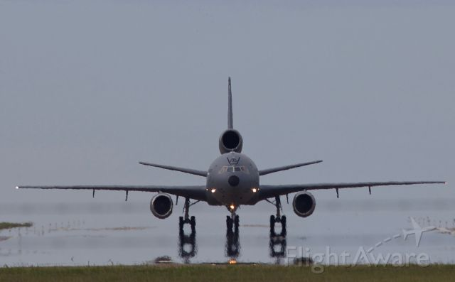 "McDonnell Douglas DC-10 (83-0081) - ""Hoist 94 Heavy"" back taxi"