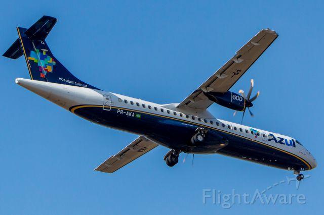 ATR ATR-72 (PR-AKA) - Azul Linhas Aereas - ATR 72-600<br />Registration: PR-AKA<br /><br />Fotografia: Marcelo Luiz