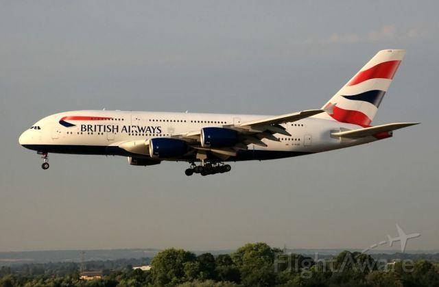 Airbus A380-800 (G-XLED)