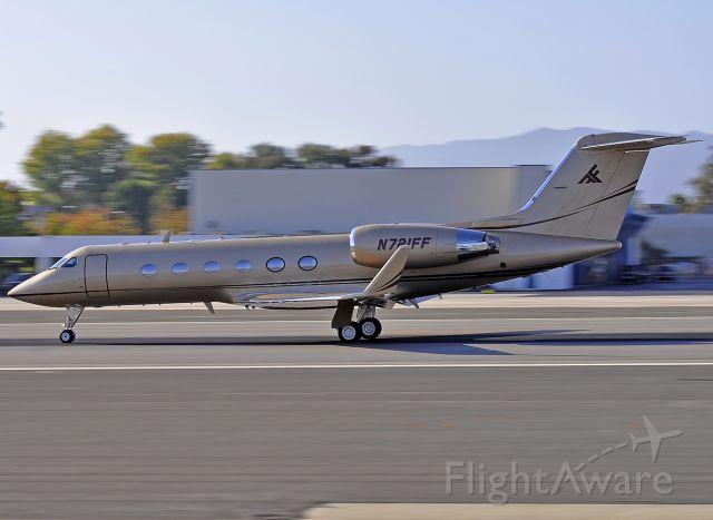 Gulfstream Aerospace Gulfstream IV (N721FF) - Photo taken on October 1, 2014.