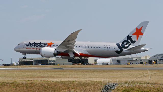 Boeing 787-8 (VH-VKK) - BOE224 on final to Rwy 34L to complete a flight test on 7/8/15. (ln 321 / cn 36237).
