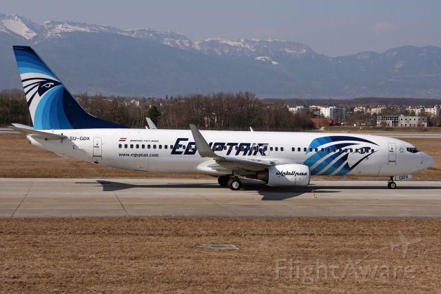 Boeing 737-800 (SU-GDX)