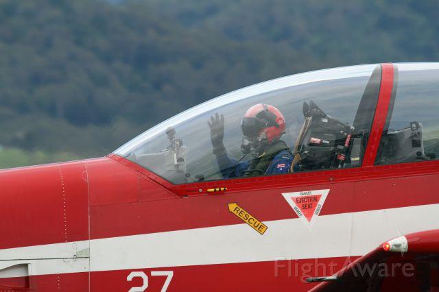 HAWKER DE HAVILLAND PC-9 — - Wings over Illawarra 2016 Australia, RAAF Roulettes.