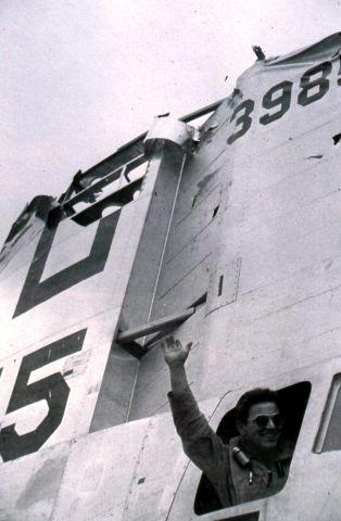 Boeing B-29 Superfortress — - Battle damage